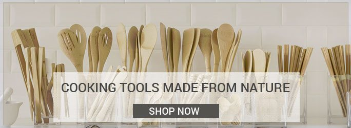 Cooking Tools Made From Nature