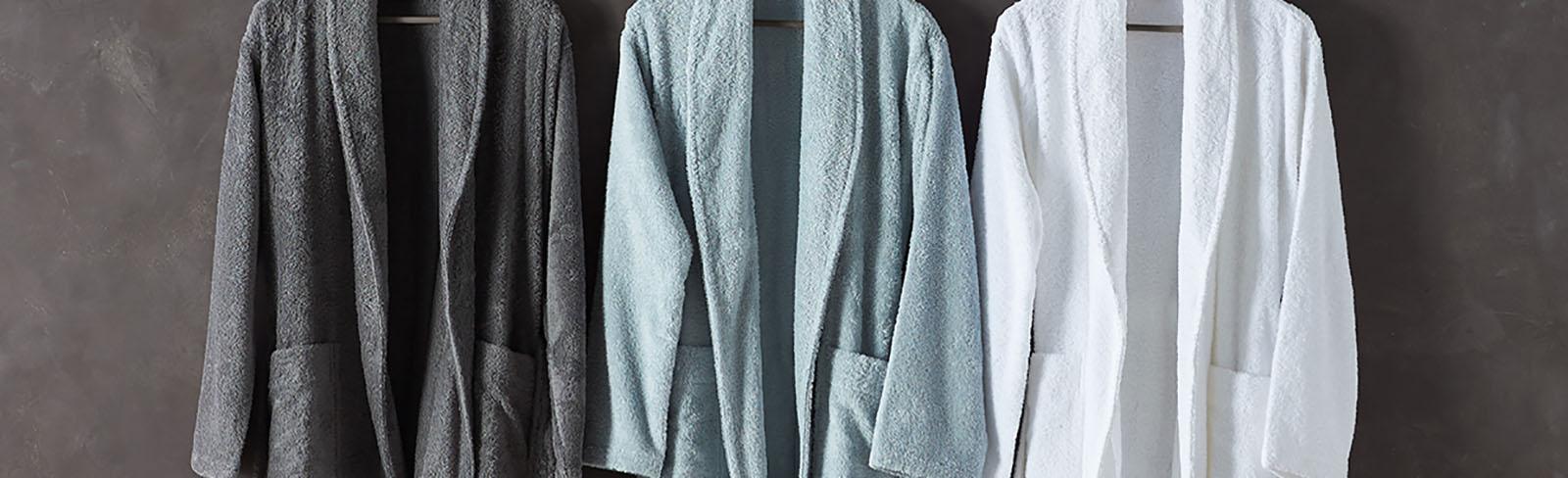 2135502f0f Organic Cotton Bathrobes - Bamboo Robes