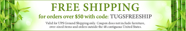 Free Shipping on Orders over $50 by The Ultimate Green Store