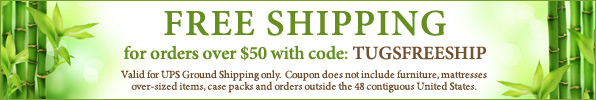 Free Shipping with code TUGSFREESHIP