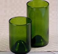 Wine Punts Recycled Wine Bottle Drinking Glasses 12 Oz