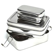 EcoLunchbox Stainless Steel Three-In-One Bento Lunch Box