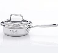 Stainless Steel 1 Quart Saucepan + Cover