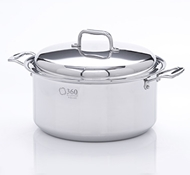 Stainless Steel 8 Quart Stock Pot + Cover