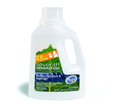 Seventh Generation Blue Eucalyptus and Lavender Concentrated Laundry Liquid