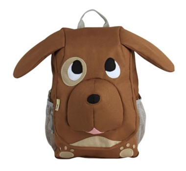 EcoZoo Kids Puppy Organic Cotton Canvas Backpack