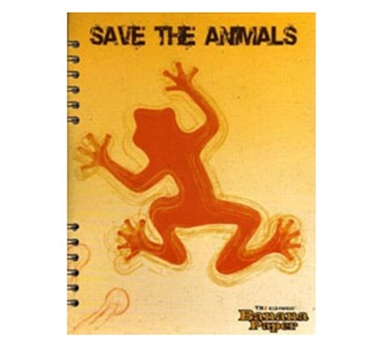 Banana Paper Recycled Notebook 2-Subject College Rule Save Collection