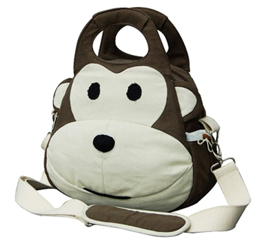 EcoZoo Eco-Friendly Monkey Lunchbox