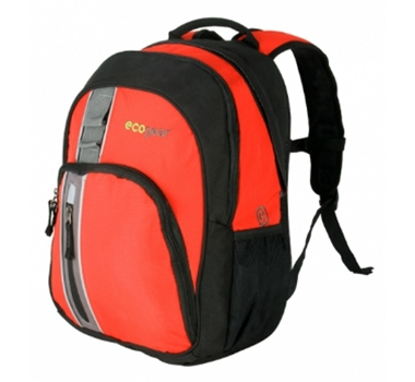 EcoGear Palila II Eco-Friendly Recycled Backpack in Burnt Sienna