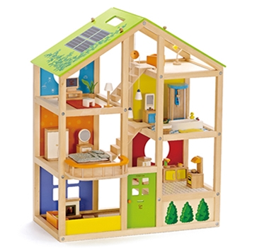 Hape Toys Educo Eco Friendly All Season House Empty