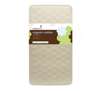 Naturepedic Organic Cotton Deluxe 252 Coil Quilted Crib Mattress