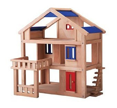Plan Toys Eco-Friendly Terrace Dollhouse