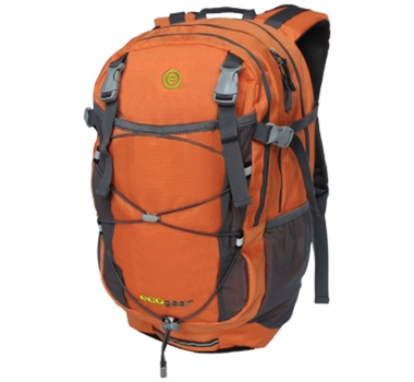 EcoGear Grizzly Recycled PET Backpack in Orange