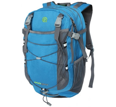 EcoGear Grizzly Recycled PET Backpack in Blue