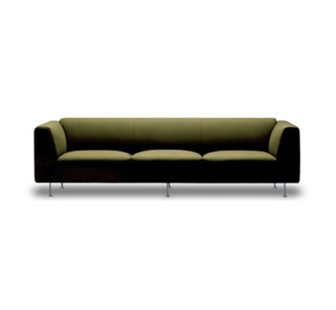 Structured Green Alexander Sofa by rc green