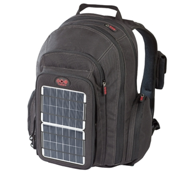 Voltaic Systems OffGrid Solar Recycled Backpack from theultimategreenstore.com