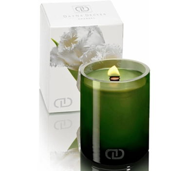 DayNa Decker Eco Luxury Candle 6 oz Leila Botanika Chandel from theultimategreenstore.com