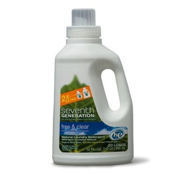 Seventh Generation Free & Clear Natural 2X Concentrate Laundry Liquid