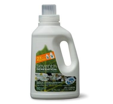 Seventh Generation White Flower & Bergamot Concentrated Laundry Liquid