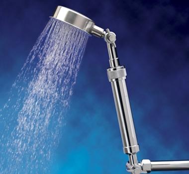 Sprite Industries ShowerUp Single Extension Filtered Shower Head