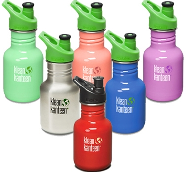 12oz (355ml) Kid Size Klean Kanteen Water Bottle (Orig. $14.95 - $16.95, On Sale $13.50 - $15.50)