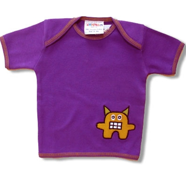 Collection | Organic | Little | Cotton | Purple | Baby | Tee