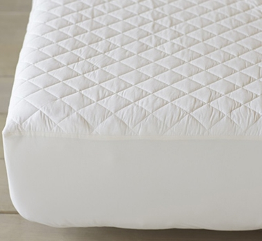 Coyuchi Organic Cotton Quilted Mattress Pads
