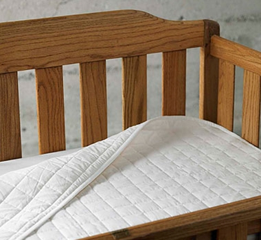 Coyuchi Organic Cotton Crib Mattress Pad