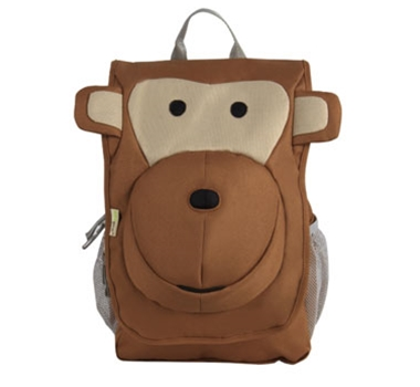 EcoZoo Organic Cotton Monkey Kids' Backpack