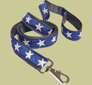 Earthdog Adjustable Decorative Hemp Pet Leash