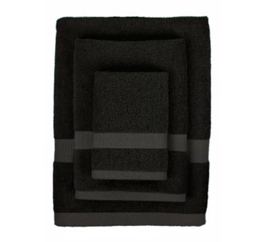 Bamboo | Fiber | Towel | Black | Set