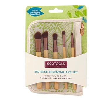 Ecotools 6 Piece Bamboo Eye Brush Set