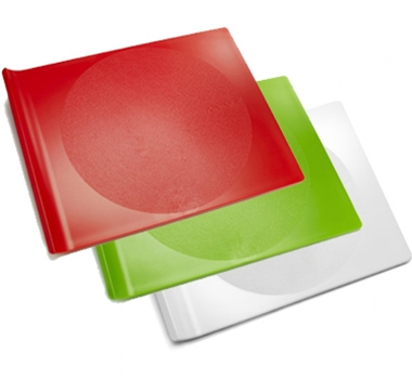 Preserve Bpa Free Cutting Board Set Small 3 Pieces 1 White Green And Red