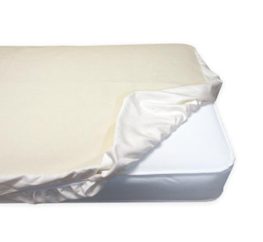 Naturepedic Organic Cotton Waterproof Fitted Crib Mattress Protector Pad