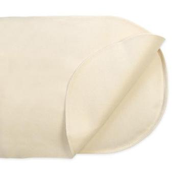 Naturepedic Organic Cotton Waterproof Flat Oval Bassinet Mattress Protector Pad