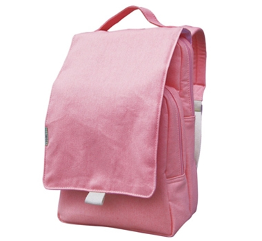 EcoGear Recycled PET Dually Lunch Tote & Backpack in Solid Pink