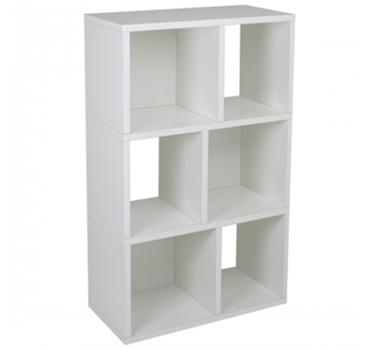 Laguna Modern Bookshelf In White