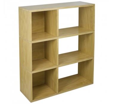 Sutton Modern Bookshelf In Natural
