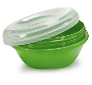 Preserve BPA Free Small Food Storage Containers in Green