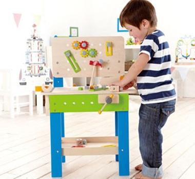 HaPe Toys Eco-Friendly Master Workbench