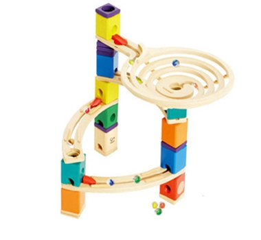 Eco-Friendly Roundabout Marble Run