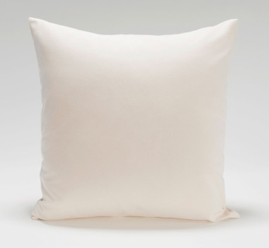 Organic Cotton Solid Canvas Decorative Pillow
