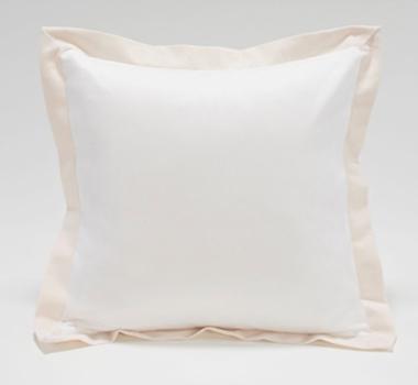 Live Good Organic Cotton Canvas Flange Pillow
