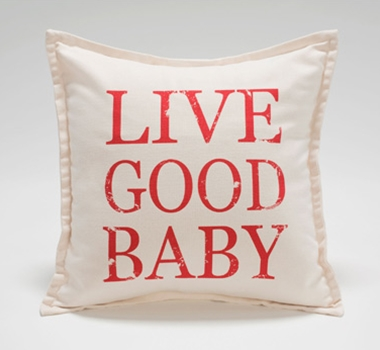 Live Good Organic Cotton Canvas