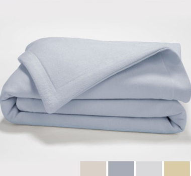 Live Good Organic French Terry Baby Blankets