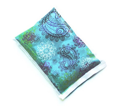 Obentec Laptop Lunches Biodegradable Non-toxic Bento Cool Ice Pack - Paisley