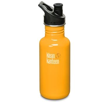 Klean Kanteen 18oz Bottle - Flame Orange