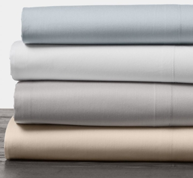 Organic Cotton 300 Thread Count Percale Pillowcases (Set of Two)
