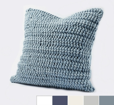 Coyuchi Organic Cotton Woven Rope Decorative Pillow Cover