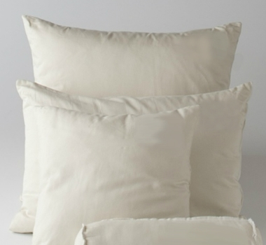 organic cotton kapok pillow inserts